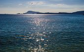 pic of shimmer  - A view of the shimmering Pacific Ocean from Tokashiki Island - JPG