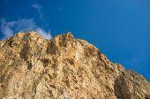image of costa blanca  - The peak of Penon de Ifach Costa Blanca Spain - JPG