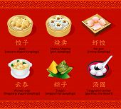 stock photo of chinese menu  - Chinese steamed - JPG