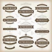 picture of flourish  - Vector vintage design elements - JPG