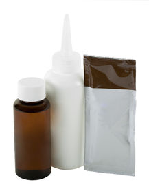stock photo of hair dye  - Hair coloring kit - JPG