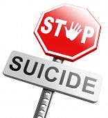 image of suicide  - suicide prevention campaign to help suicidal people - JPG