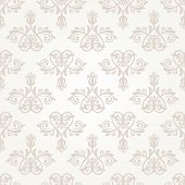 pic of damask  - Oriental vector pattern with damask - JPG