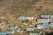 Постер, плакат: Тибетский стиль дома