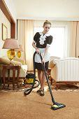 image of housekeeper  - Hotel service - JPG