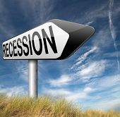 picture of stock market crash  - bank crisis recession and stock crash economic and financial bank recession market crash    - JPG