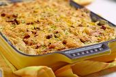 foto of ground-beef  - Baked Potato Gratin with Beef Ground Meat - JPG