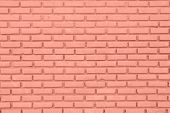stock photo of brick block  - Red or brown wall of Cement Brick or Block as Background - JPG