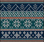 foto of knitting  - Winter sweater design on the wool knitted texture - JPG