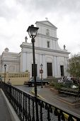image of san juan puerto rico  - san jose cathedral church old san juan puerto rico - JPG