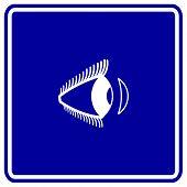 foto of contact lenses  - contact lens sign - JPG