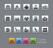 Business & Finance // Satinbox Series -------It includes 5 color versions for each icon in different