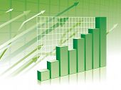 picture of stock market data  - Graph background - JPG