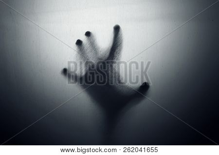 Shadow Of Ghost Hand Trapped