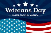 Veterans Day Concept Background. Flat Illustration Of Veterans Day Vector Concept Background For Web poster