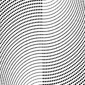 Abstract Halftone Pattern. Vector Halftone Dots Background For Design Banners, Posters, Business Pro poster
