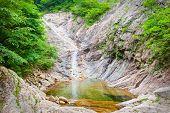 picture of seoraksan  - Waterfall at Seoraksan National Park - JPG