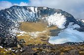 Hallasan mountain volcanic crater at Jeju island Korea