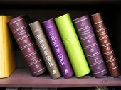 image of annal  - Antique books on bookshelf - JPG