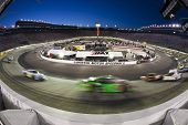 BRISTOL, TN - AUG 20:  The NASCAR Nationwide teams take to the track for the Food City 250 race at B