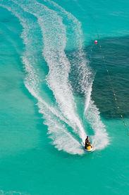 stock photo of waverunner  - Seadoos - JPG