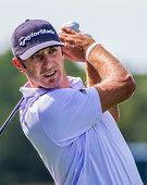 Dustin Johnson en el 2012 Barclays