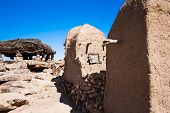 picture of dogon  - The principal Dogon area is bisected by the Bandiagara Escarpment Mali Africa - JPG
