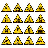 warning signs (vector)