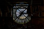 pic of muse  - View through the clock of Musee d - JPG