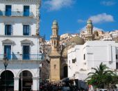 pic of algiers  - mosque at Algiers capital city of Algeria country  - JPG