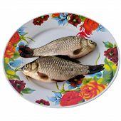 pic of fresh water fish  - Fish Appetizer Roach Salt Dry Dinner Delicious Healthy Tail Kitchen Fresh water.