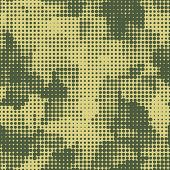 stock photo of camoflage  - military dots seamless background - JPG