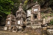 stock photo of dong  - Ancient buddhist pagoda cave complex Bich Dong - JPG