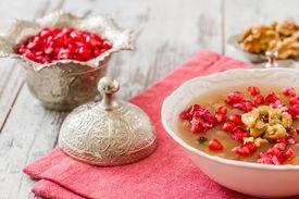 stock photo of muharram  - Turkish dessert Ashura Noah - JPG