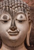 picture of chums  - Buddha Statue Close - JPG
