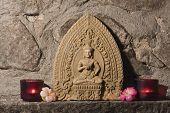 image of handicrafts  - Buddha stone carving - JPG