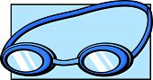 pic of goggles  - swimming goggles - JPG