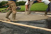 Laying Concrete