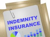Indemnity Insurance Concept poster