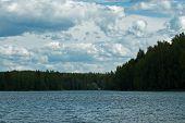 Постер, плакат: Финский озеро