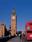 picture of big-ben  - Scene of England Big Ben - JPG