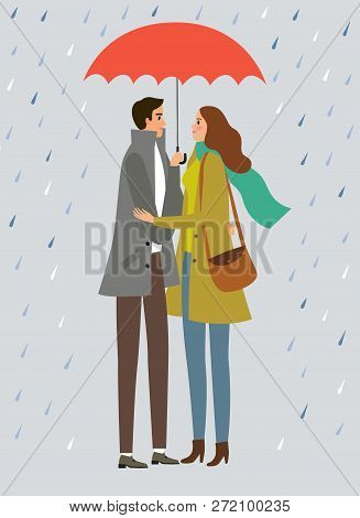 Man And Woman Standing With