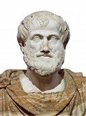 Aristotle Greek Ancient Classic Philosopher  History Statue Illustrationaristotle Greek Ancient Clas poster
