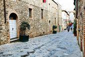 stock photo of salvatore  - Architectural detail in Montalcino - JPG