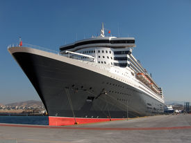 pic of cruise ship  - the world - JPG