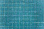 image of porphyry  - classic blue bricks from a swimming pool wall - JPG