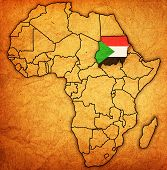 Sudan On Actual Map Of Africa