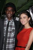 Edi Gathegi, Christian Serratos at the