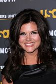 Tiffani Thiessen at USA Network and Moth present