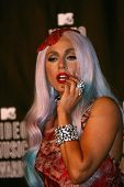 Lady GaGa at the 2010 MTV Video Music Awards Press Room, Nokia Theatre L.A. LIVE, Los Angeles, CA. 0